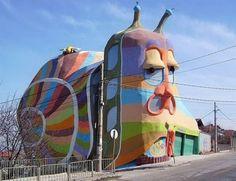 Snail House in Sofia,Bulgaria