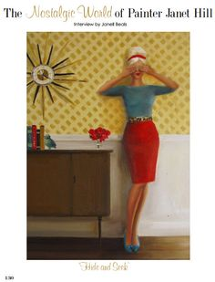 The work of Janet Hill, as seen in House of Fifty Magazine
