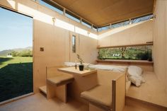 Pop-up hotel rooms, selected in an international design competition, have been installed in Wales as part of Epic Retreats, a moveable glamping resort. Tyni House, Boutique Retreats, Off Grid Cabin, Wood Interiors, Interior Architecture, Architecture Today, Sustainable Architecture, House Plans, New Homes