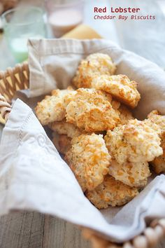 Red Lobster Cheddar Bay Biscuits Recipe.