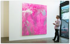 """Max Gimblett - """"The Ballad of the South Pacific"""" at Gow Langsford Gallery. Lorne St."""
