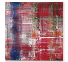 Gerhard Richter Abstraktes Bild (798-3)  signed, numbered and dated '798-3 Richter 1993' (on the reverse)  oil on canvas  240 x 240 cm CHRISTIES 8 May , N.Y : * Visionary Tokyo