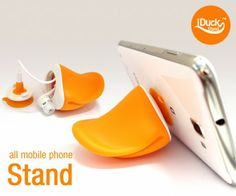 Presenting the iDuck the best Phone stand ever! iDUCK is a stand for all mobile phones and small pads. It is made of eco-friendly . Best Mobile Phone, All Mobile Phones, Best Phone, New Phones, Iphone Stand, Iphone Cases, Cord Organization, Tablets, Mobile Accessories