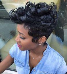 Classic LTR style. @liketheriversalon ✂️✂️✂️ #besthair #bestsalon #shorthair #aveda #liketheriversalon #thecutlife #modernsalon #blackhair #hairstyles #aveda #streetstyle #bighair #beauty #emmys #fashion #nycfashion #atlanta #lahair #americansalon