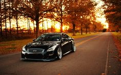 Beautiful  Infiniti G37 - black, speed, beautiful, cars, g37, infiniti