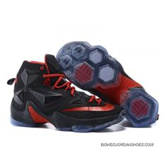 b43c00a500f Nike LeBron 13 Kids Shoes Bred Basketball Shoes Discount