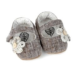 MYANG | Shoes | Accessories | Baby Linen l M0023 - Tweed with Flower