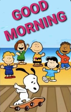 Good Morning Gif Disney, Cute Good Morning Gif, Good Morning Snoopy, Good Morning God Quotes, Snoopy Love, Charlie Brown And Snoopy, Snoopy And Woodstock, Snoopy Cartoon, Peanuts Cartoon