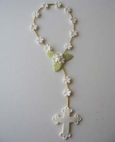 cold porcelain finger rosary