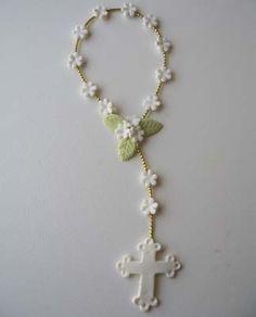 cold porcelain finger rosary