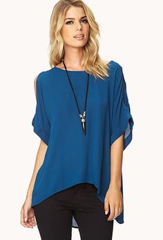Essential Cutout Top | FOREVER21 - 2000092032