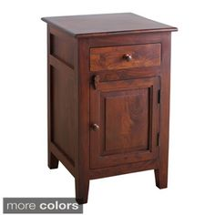 Drogo Side Table - Overstock Shopping - Great Deals on Antique Revival Coffee, Sofa & End Tables