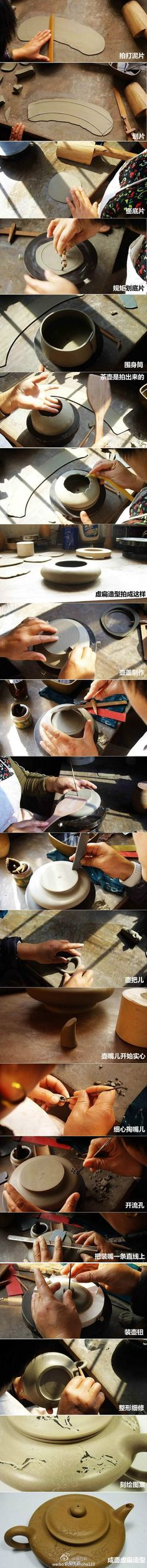 How to make a teapot
