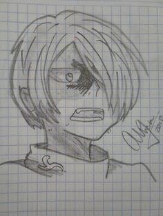 Yuri Plisetsky from Yuri on Ice! -Alex (signature ™ for authenticity) Yuri Plisetsky, Yuri On Ice, Authenticity, Manga Anime, Sketches, Drawings, Art, Art Background, Kunst