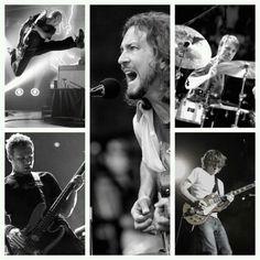 Pearl Jam (Matt Cameron, Eddie Vedder, Stone Gossard, Jeff Ament, Mike Mccready)