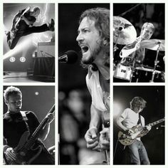 Pearl Jam (Matt Cameron, Eddie Vedder, Stone Gossard, Jeff Ament, Mike Mccready)
