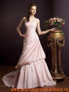 Sensational A-line Sweetheart Floor-length Tiered Chapel Color Wedding Dresses - Color Wedding Dresses - Wedding Dresses Bridesmaid Dresses, Prom Dresses, Formal Dresses, Colored Wedding Dresses, One Shoulder Wedding Dress, Marie, Floor, Fashion, Gowns