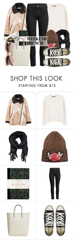 """""""Weekend Brunch yeah!"""" by alaria ❤ liked on Polyvore featuring MANGO, Ted Baker, Converse, Witchery, weekend and brunch"""