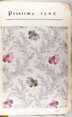 Textile Sample Book Printemps