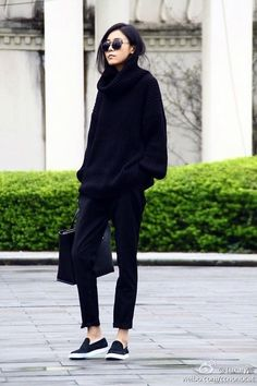 Cute oversized sweater outfit Ideas For 2015 (36)