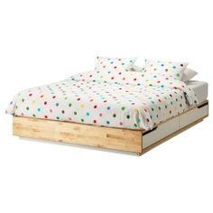 Guest house: MANDAL Bed frame with storage - Queen - IKEA $399 - really liking this for a clean modern look, coordinating headboard is long enough to put on long side of bed, which could transform it to a platform lounger (and still double as a real bed for ultimate comfort)