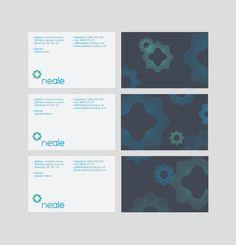 Neale Accountants — Brand Identity by James Trump, via Behance