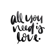 Love is all you need  • •  @melo_and_co  #intriguingtype
