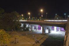 Pineios river bridge