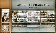 Pharmacie américaine au Marunouchi Building Mart. Photo © Copyright Yves Philippe