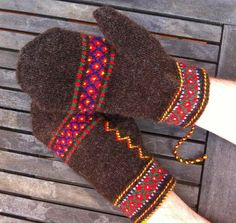Lappone: Inspiration from Ore. #mittenS:-)