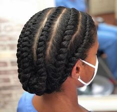 Flat Twist Styles, Hair Twist Styles, Flat Twist Hairstyles, Braided Hairstyles, Short Hair Styles, Black Hairstyles, Protective Hairstyles For Natural Hair, Natural Hair Braids, Long Natural Hair