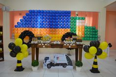 decoração de aniversario onibus - Pesquisa Google
