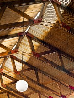 Fragments of architecture Timber Architecture, Timber Buildings, Architecture Details, Steel Trusses, Roof Trusses, Truss Structure, Steel Structure, Wood Truss, Pavillion