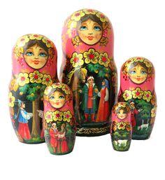 Matryoshka Doll, Storytelling