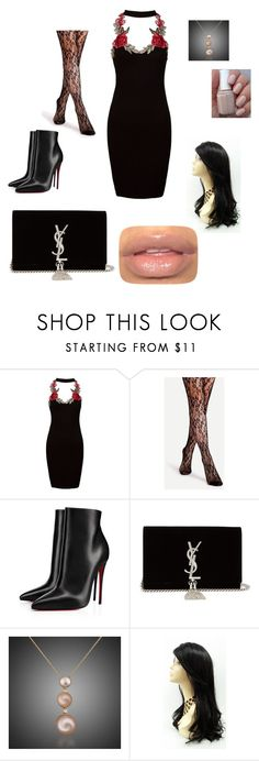 """""""For Sinead"""" by mdbjanae on Polyvore featuring Sans Souci, Christian Louboutin and Yves Saint Laurent"""