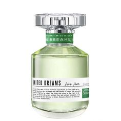 United Dreams Live Free Benetton Eau de Toilette - Perfume Feminino 50ml