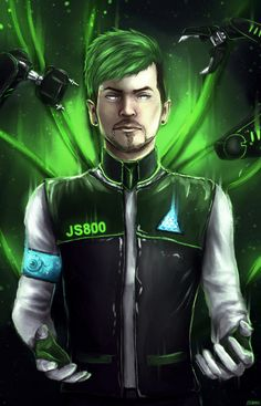 Jacksepticeye - Detroit: Become Human by Owlzey on DeviantArt Jacksepticeye Fan Art, Markiplier, Pewdiepie, Darkiplier And Antisepticeye, Top Of The Morning, Becoming Human, Youtube Gamer, Septiplier, Dark Mark