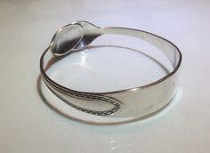 Upcycled Sugar Tong Bracelet / Bangle by WNWNUpcycling on Etsy