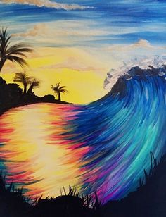Paint Nite - Color Ride