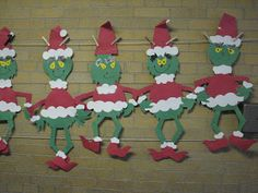 Grinch - Life-size Grinch craft