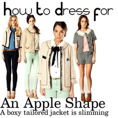 """SS12 Pretty Preppy Collection For An Apple Shape"" by boohoofashion on Polyvore"