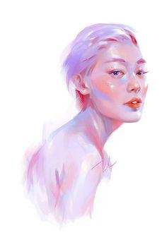 Beauty Code by Lai N. Nguyen, via Behance