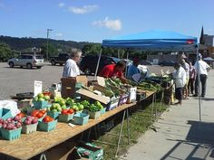 Thursday is market day at Downtown Steubenville Farmers Market in Ohio 9am - 1pm http://www.farmersmarketonline.com/fm/DowntownSteubenvilleFarmersMarket.html