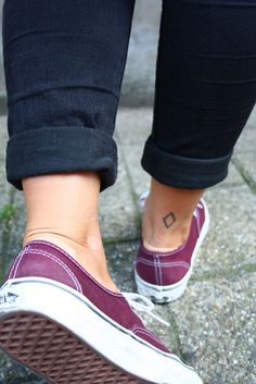 shoes and tattoo
