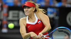 Russia tennis player Maria Sharapova during in their Fed Cup final match between Czech Republic vs Russia in Prague  Photo (c) lavek Ruta / REX / Shutterstock Now