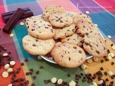 Galletas cookies de chocolate. Están buenísimas, imposible resistirse a ellas!