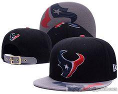24d89fb93a4cf Texans Team Logo Black Adjustable Hat GS For Sale