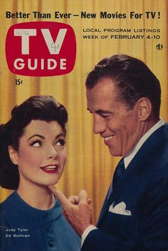 TV Guide February 4-10, 1956 by The Pie Shops, via Flickr