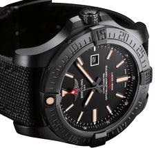 Breitling Avenger Blackbird - Black pilot's watch