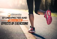 10 unexpected and bizzare side effects opf exercising. #exercise #workout #health #fitness #chiropracticsingapore